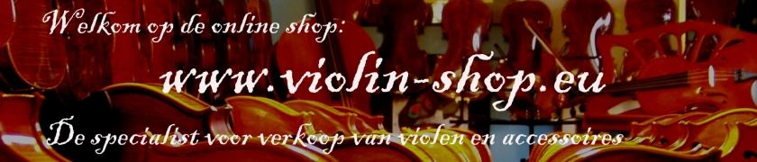 Viool & accessoires online shop