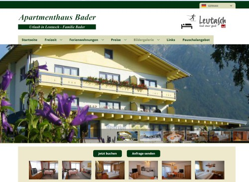 www.apartmenthaus-bader.at