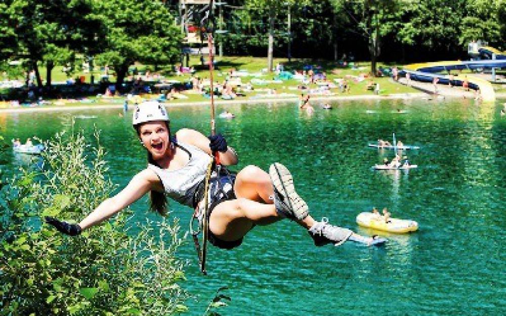 Natur Aktiv Hotel Tauernstern-Ausflugsziele-sommerfrische, nationalpark hohe tauern, kärnten, osttirol, österreich Kletterpark Greifenburg-Neu