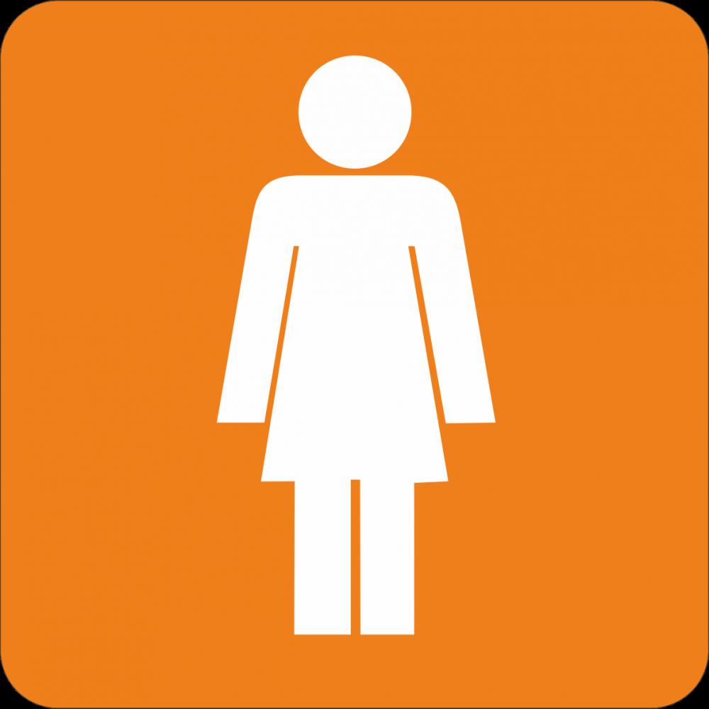 Piktogramm WC Damen