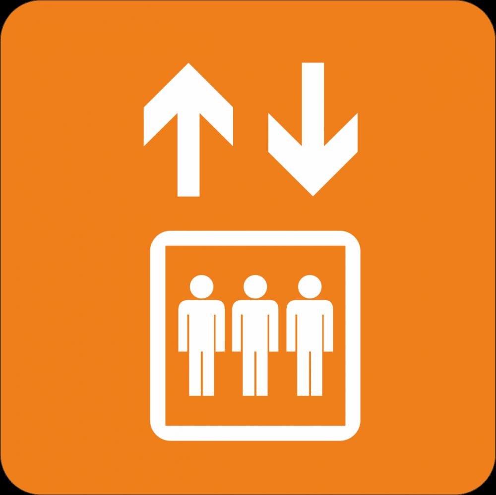 Piktogramm Fahrstuhl