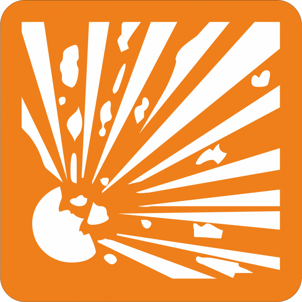 Piktogramm Explosionsgefahr