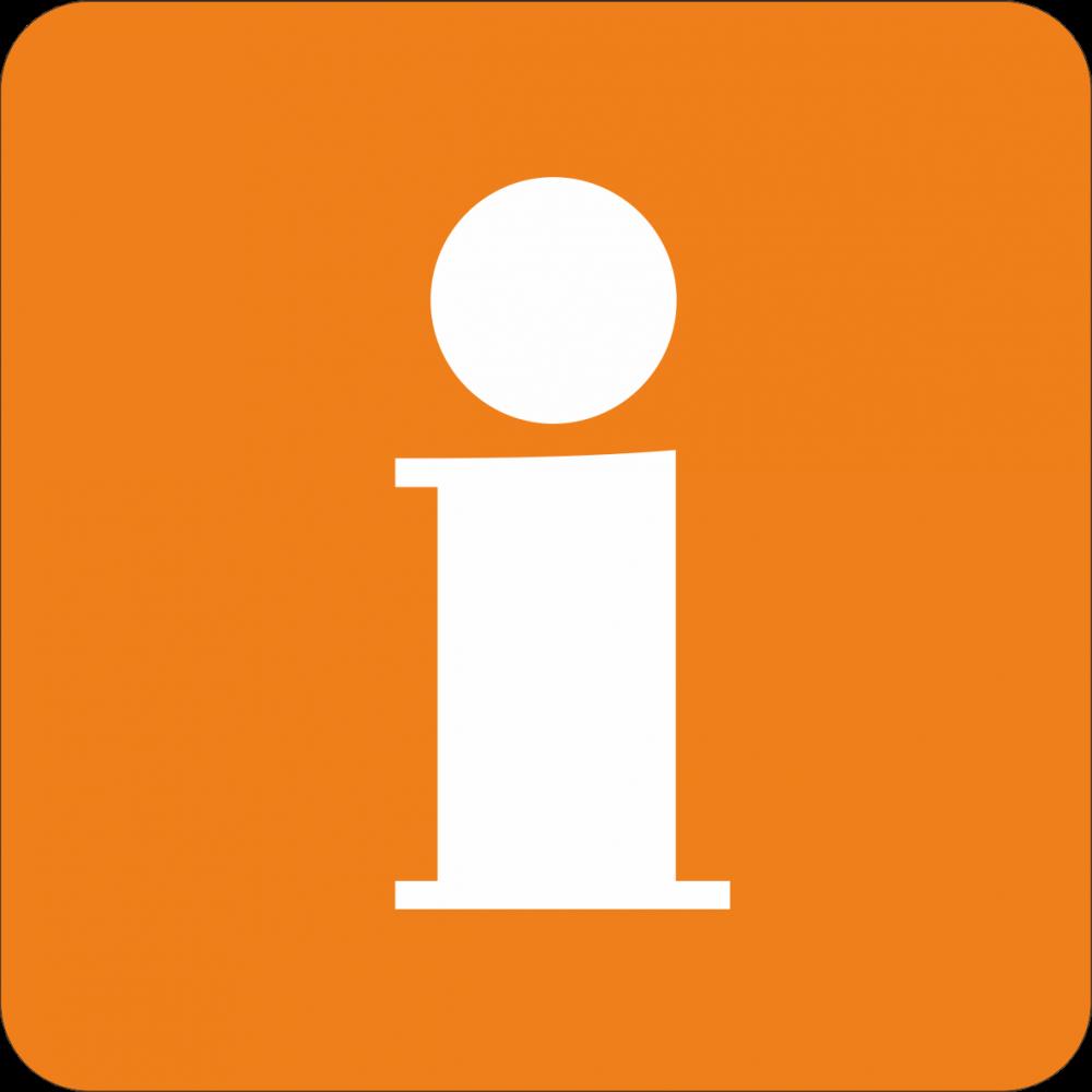 Piktogramm Information