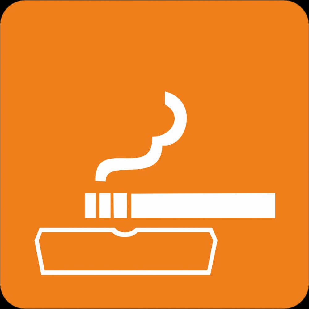 Piktogramm rauchen erlaubt