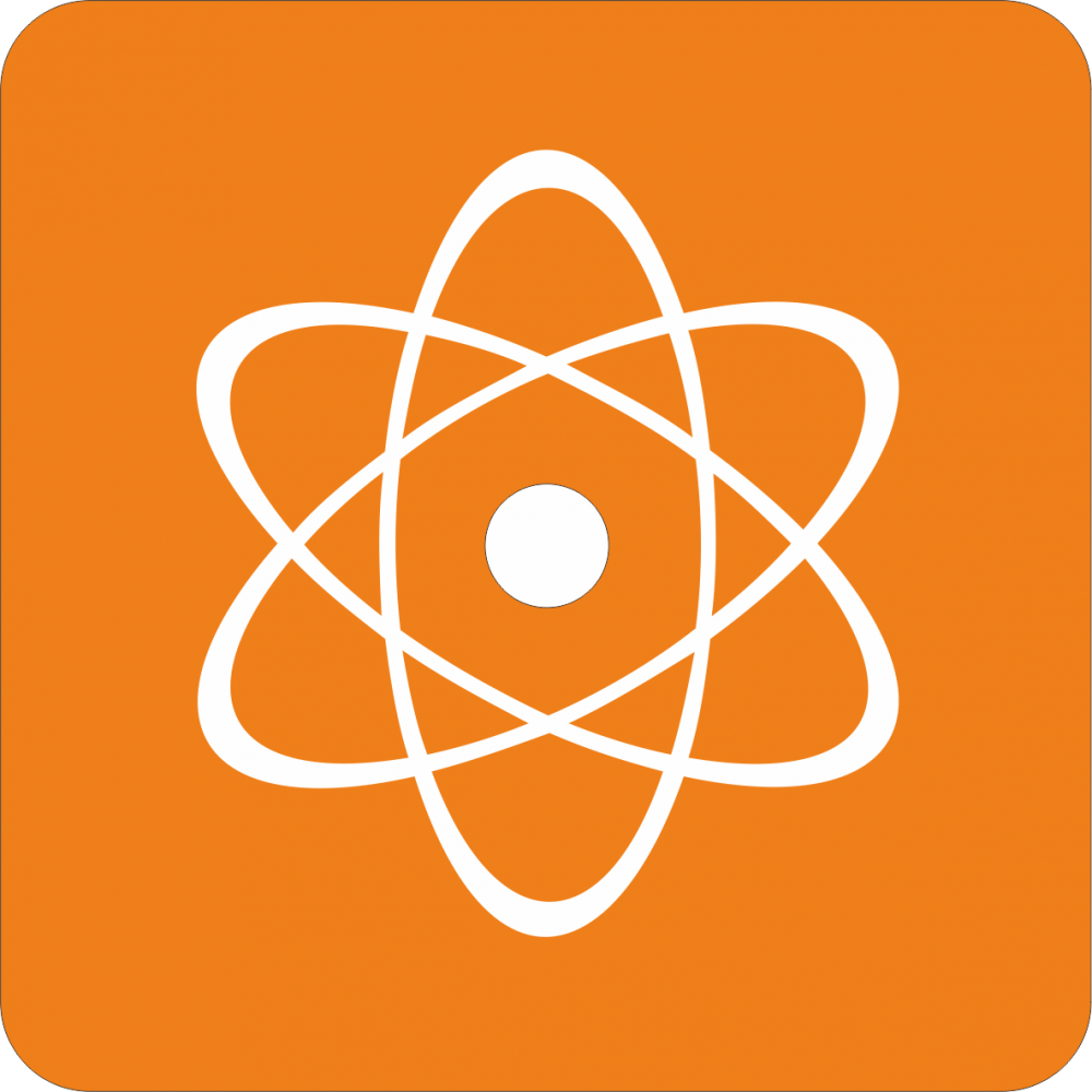 Piktogramm Kernspaltung