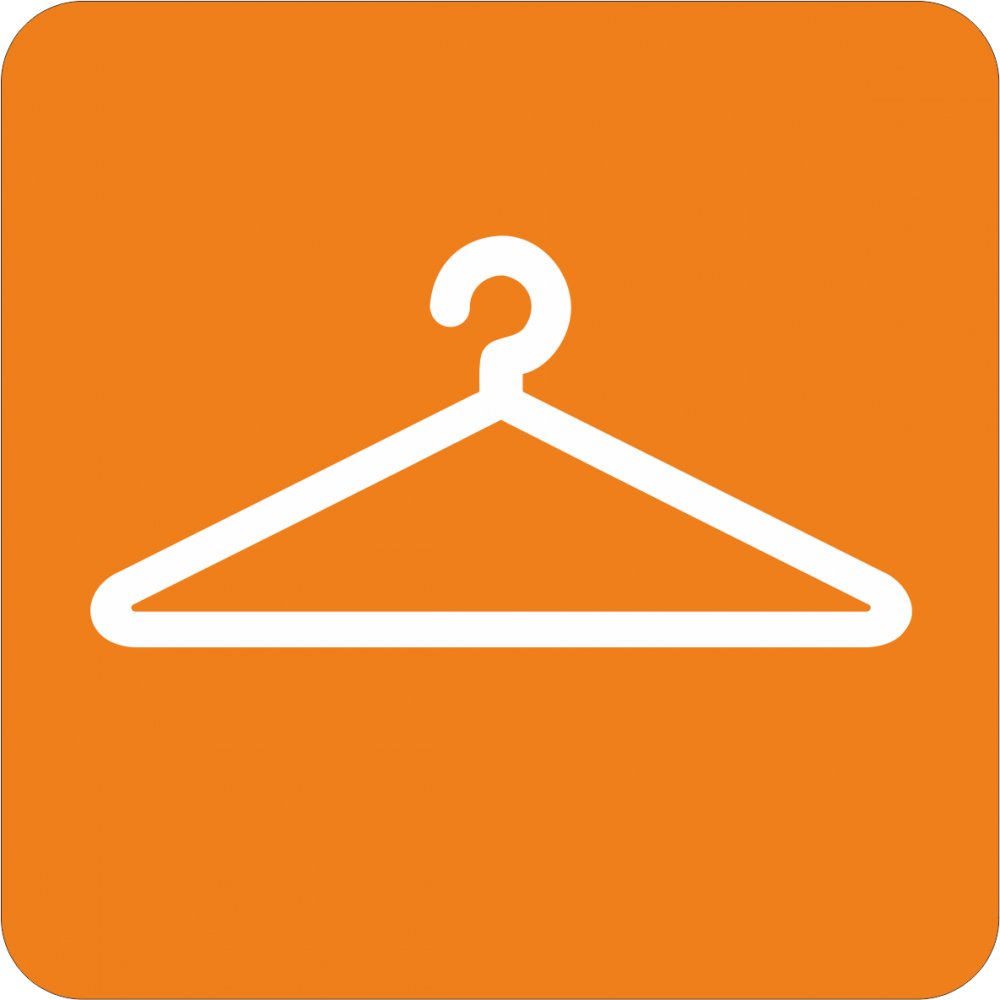 Piktogramm Garderobe