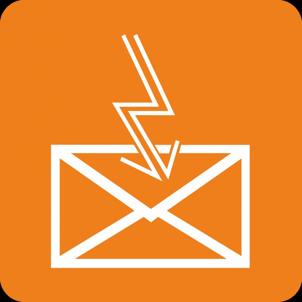 Piktogramm Telegramme