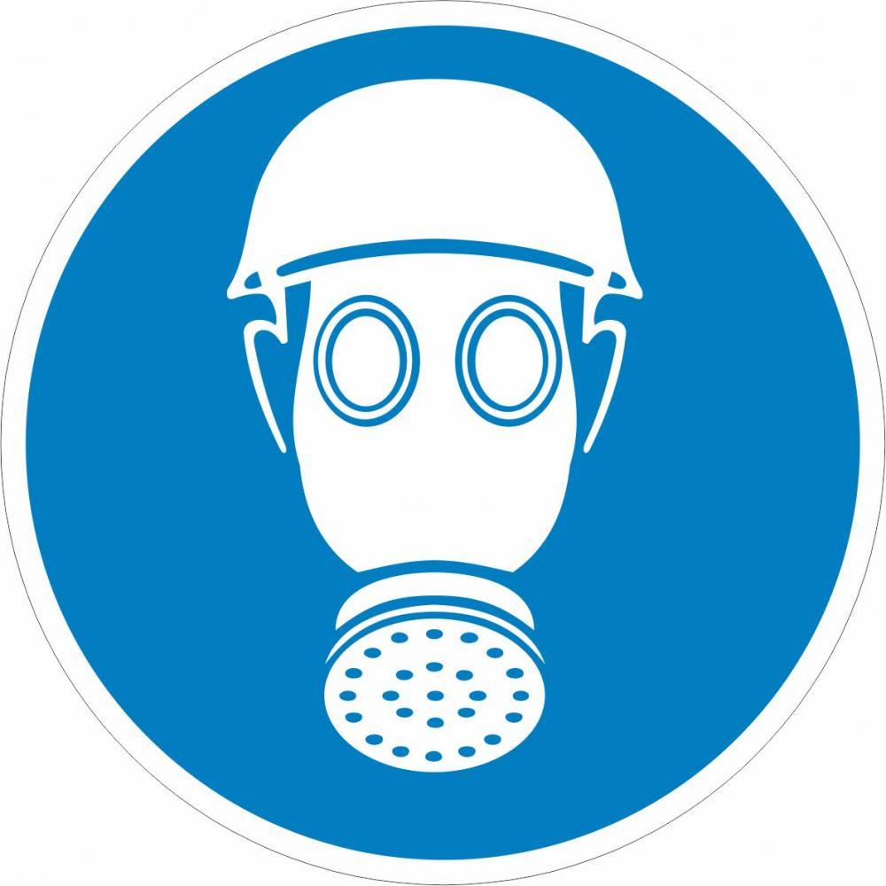 Atem- und Kopfschutz tragen