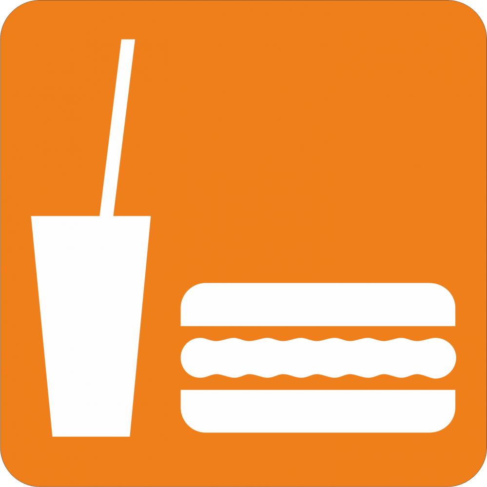 Piktogramm Essen und Trinken