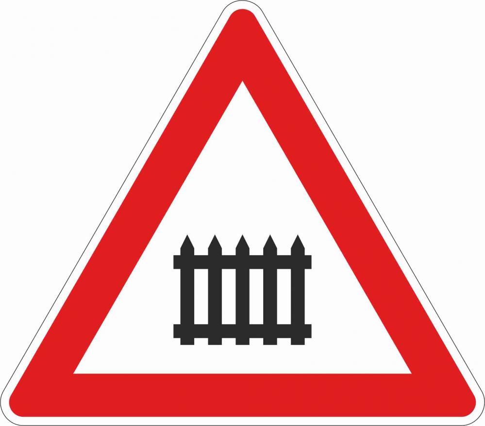 Bahnübergang mit Schranken §50/6a