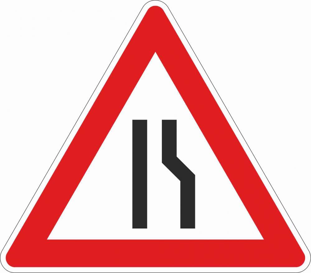 Fahrbahnverengung rechtsseitig §50/8c