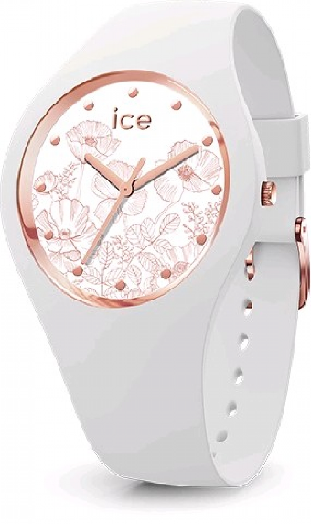 ICE WATCH Ice Flower Spring White Medium Art.Nr. 016669