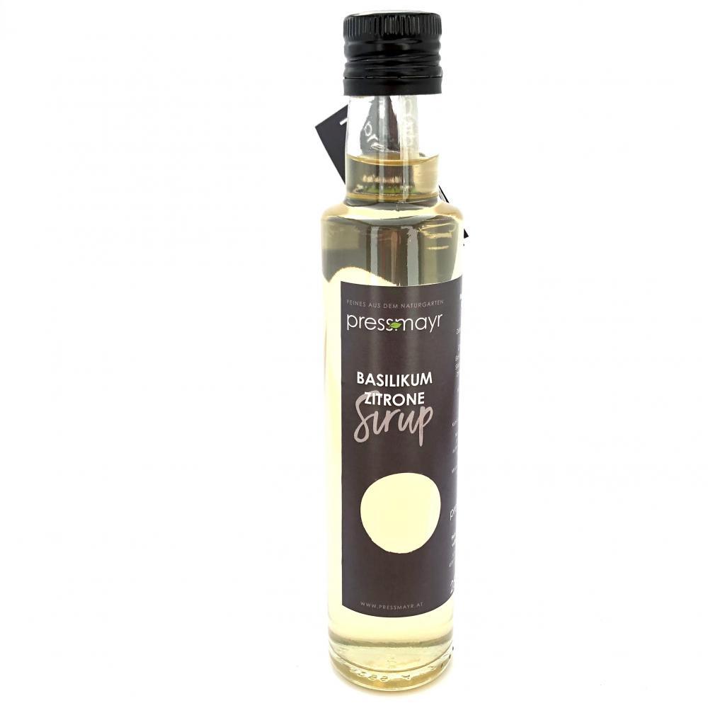Basilikum-Zitrone Sirup
