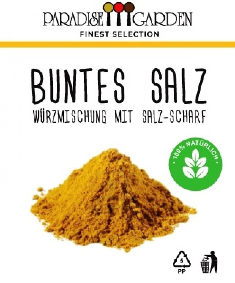 BUNTES SALZ SCHARF - WÜRZMISCHUNG MIT SALZ 50 g