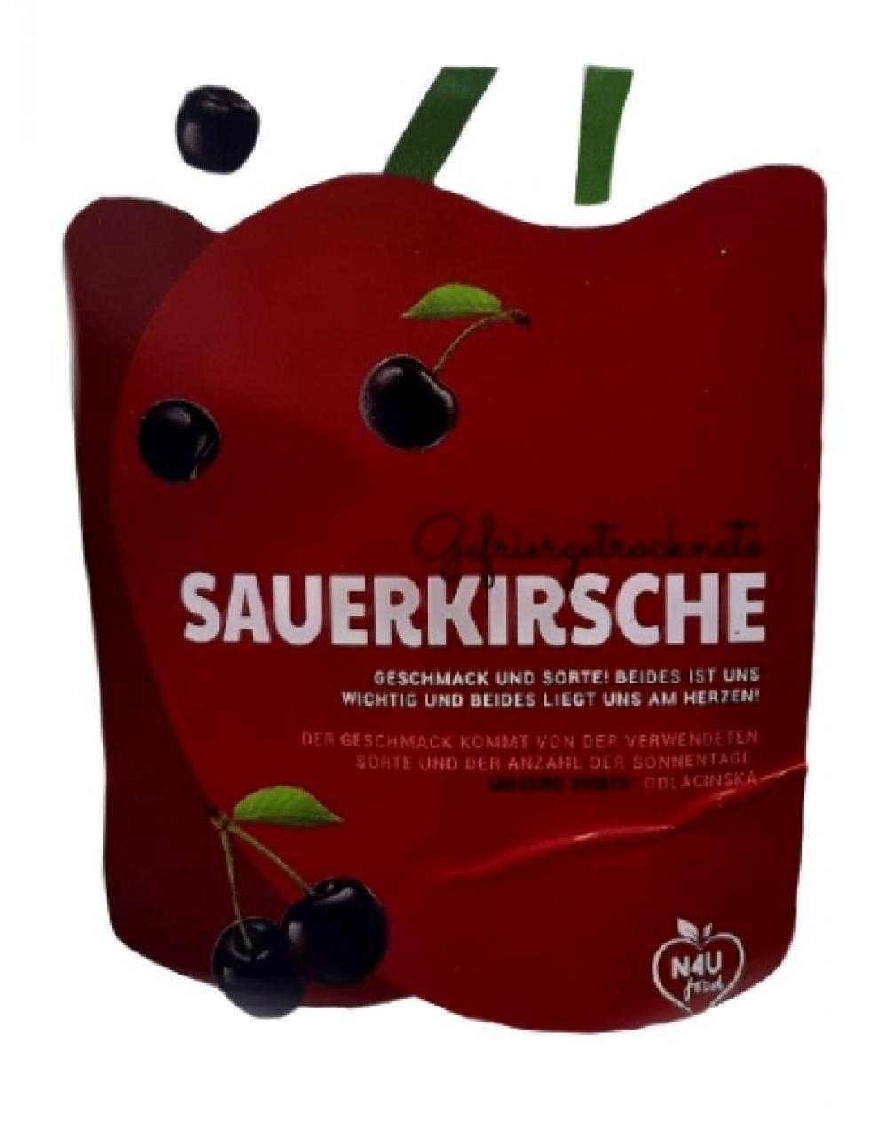 GEFRIERGETROCKNETE SAUERKIRSCHE 30 g