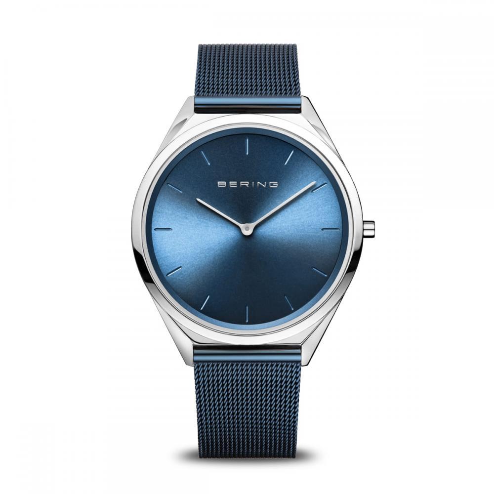 Bering Unisex Uhr Ultra Slim | silber glänzend | 17039-307