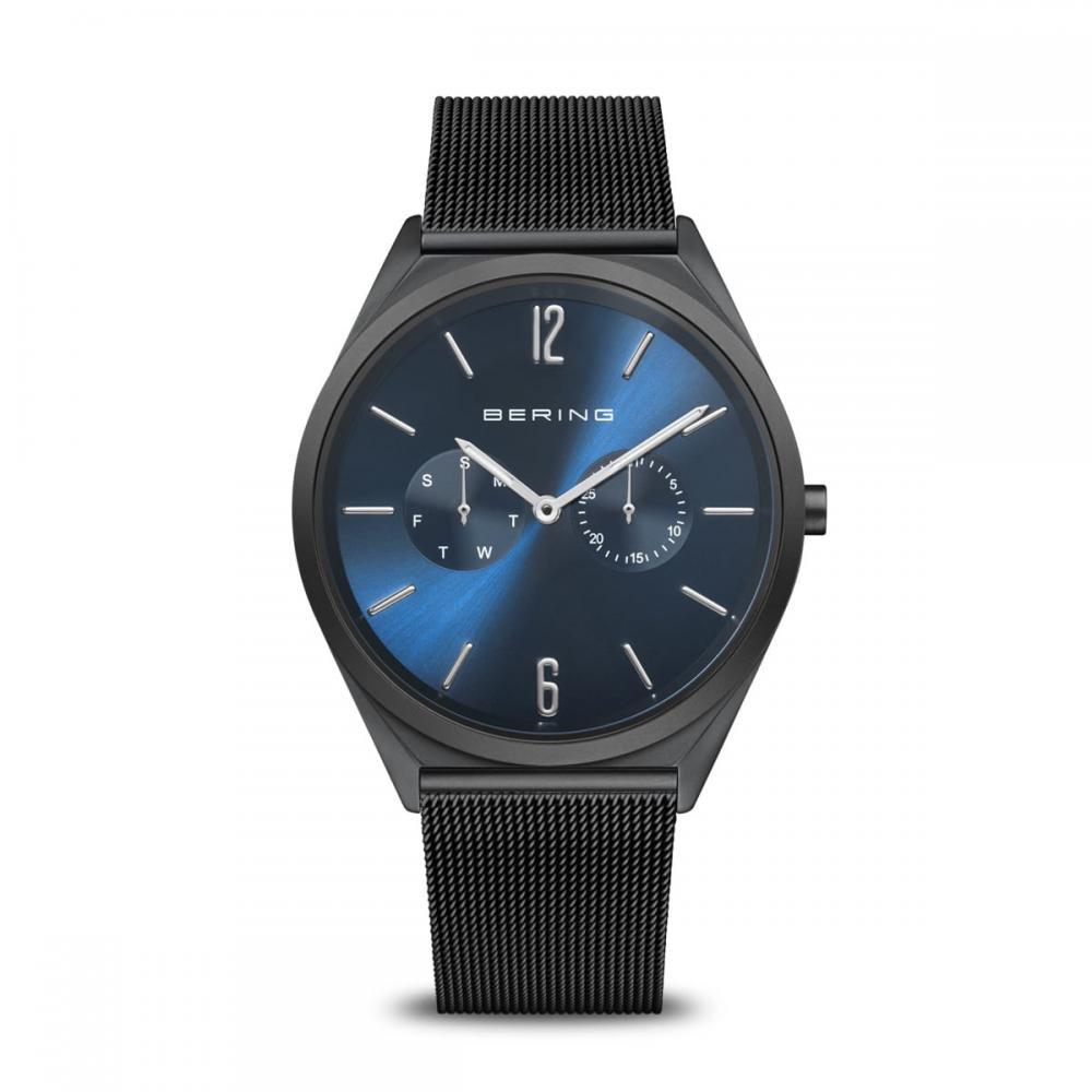 Bering Unisex Uhr Ultra Slim | schwarz poliert/gebürstet | 17140-227