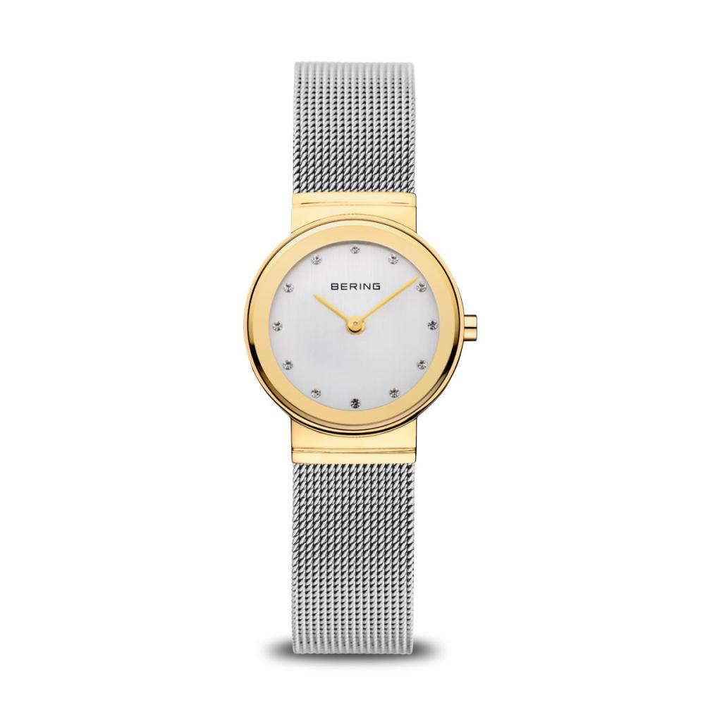 Bering Damenuhr Classic | gold glänzend | 10126-001