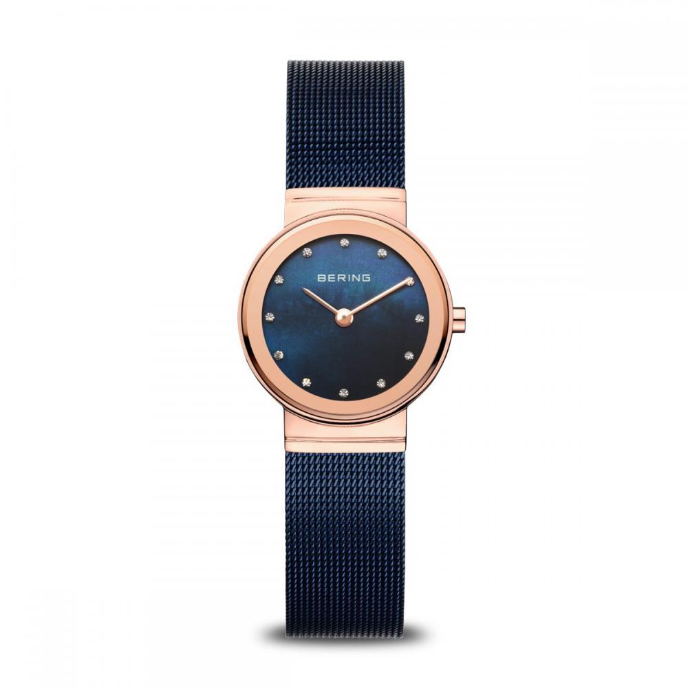 Bering Damenuhr Classic | roségold glänzend | 10126-367