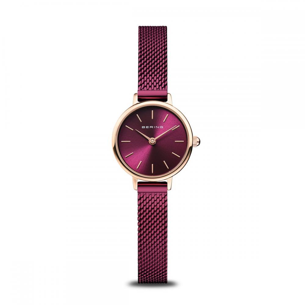 Bering Damenuhr Classic | roségold glänzend | 11022-969