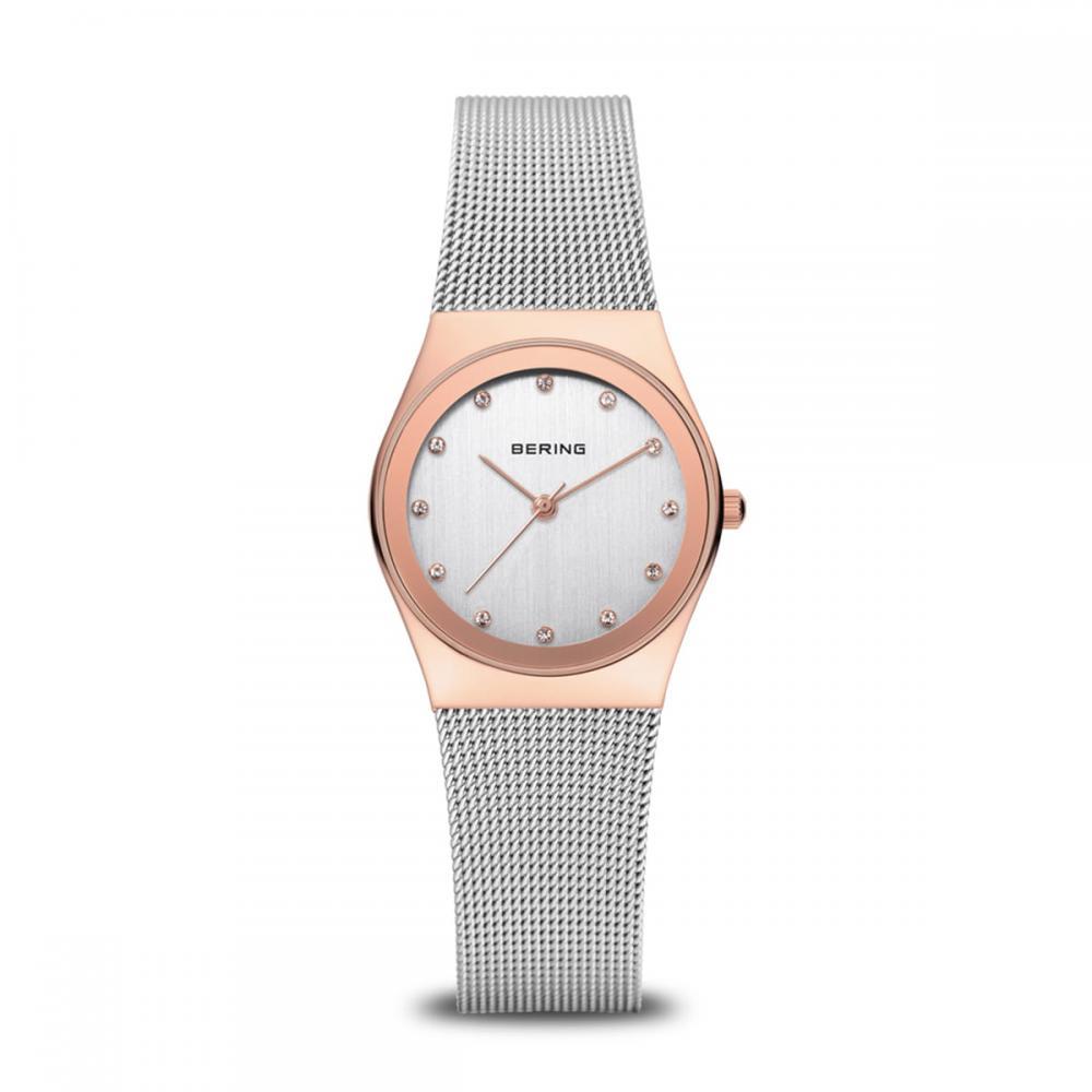 Bering Damenuhr Classic | roségold glänzend | 12927-064