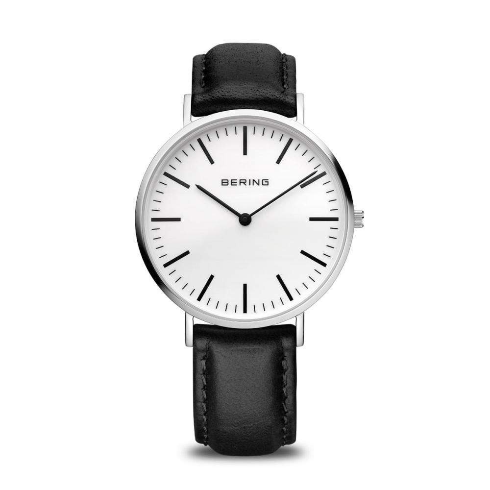 Bering Unisex Uhr Classic | silber glänzend | 13738-404
