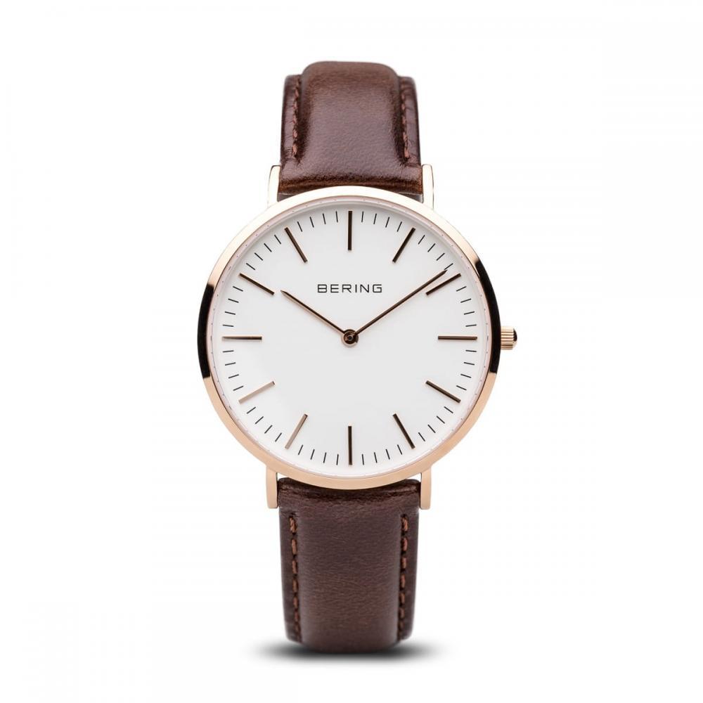 Bering Unisex Uhr Classic | roségold glänzend | 13738-564