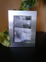 Erinnerungsbild mit dickem Metallrahmen 10x15 cm