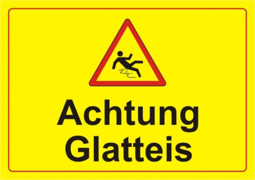 Achtung Glatteis