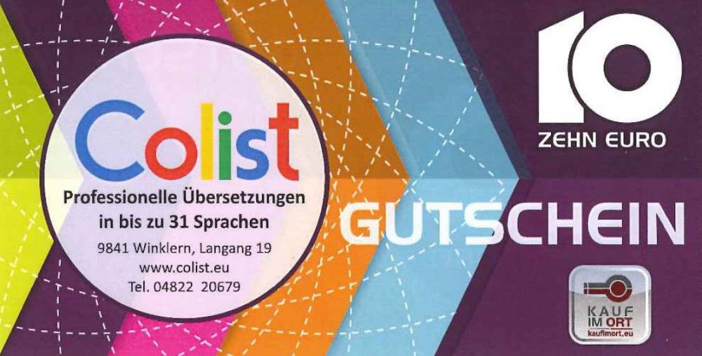 Colist GmbH - Übersetzungsbüro, Webseiten, Shop