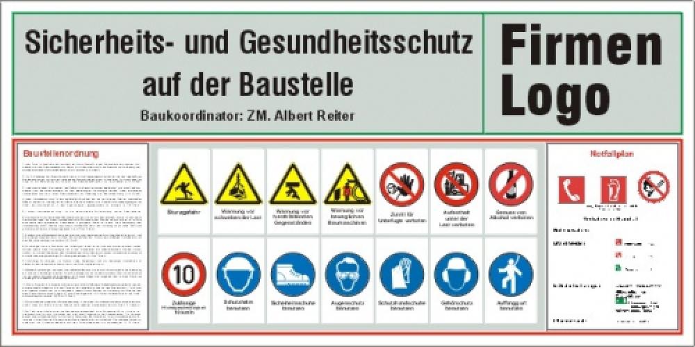 Baustellensicherheitstafel 2