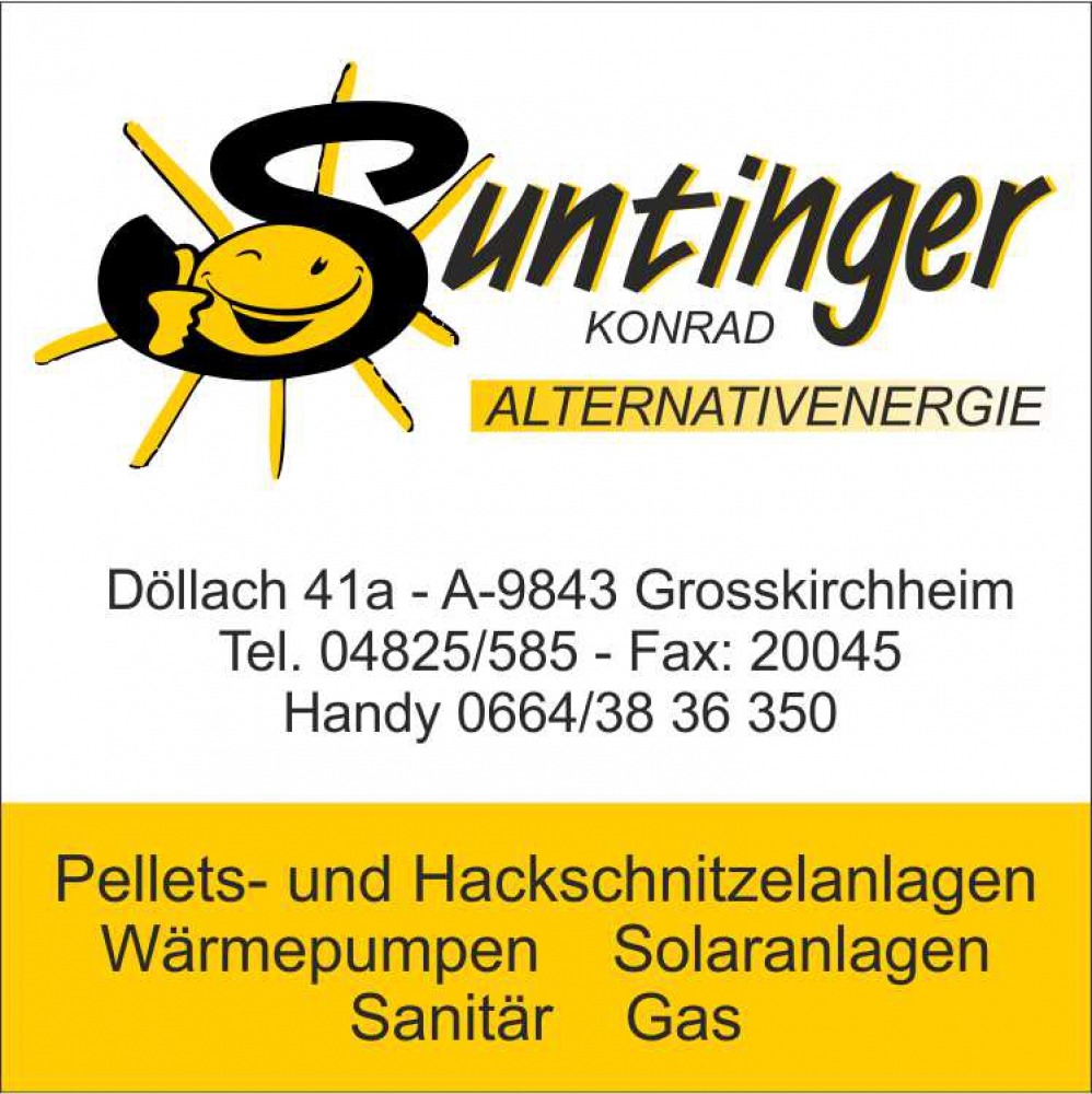 Suntinger Konrad Alternativenergie - Sanitär, Heizung
