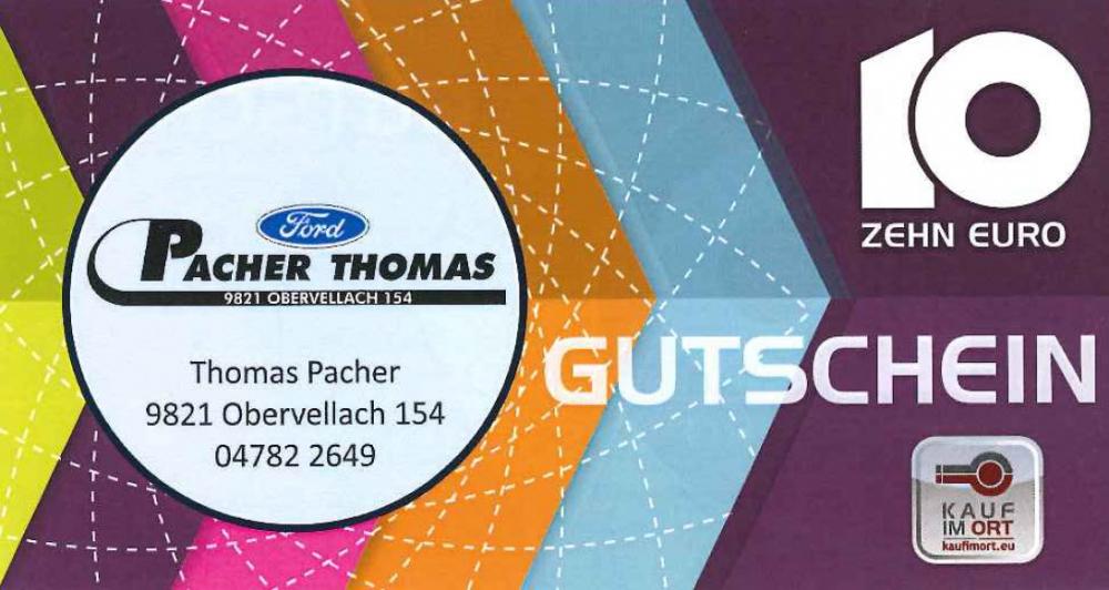 Autohaus Pacher Thomas - Ford Händler