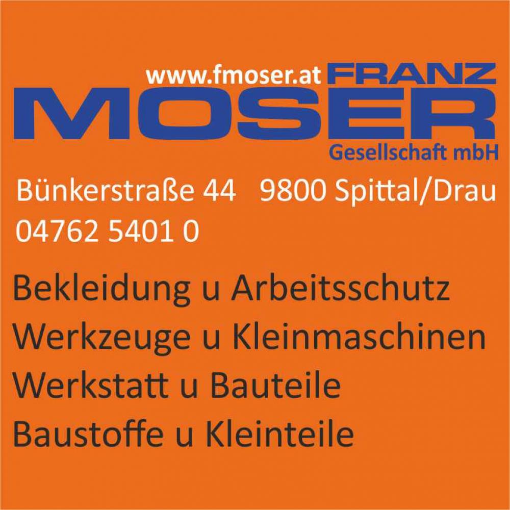 Franz Moser - Bekleidung, Arbeitsschutz, Werkzeuge