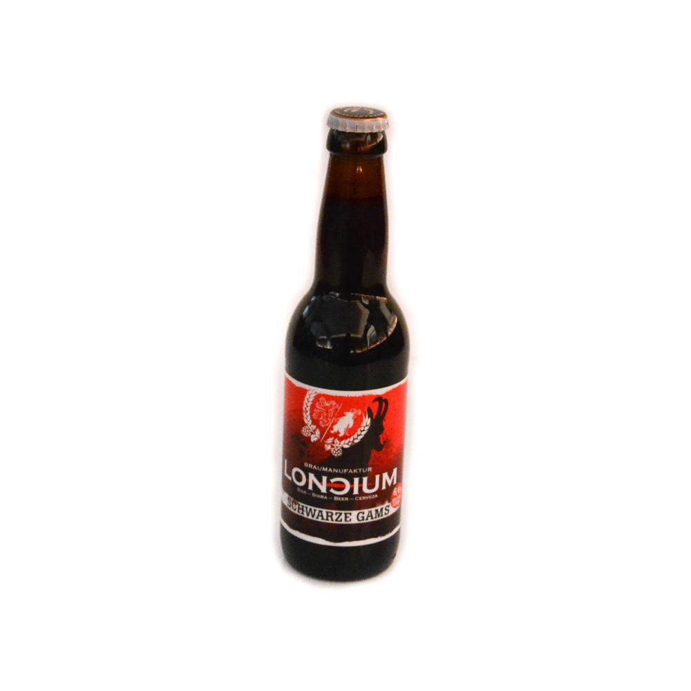 Loncium Bier Schwarze Gams 0,33l