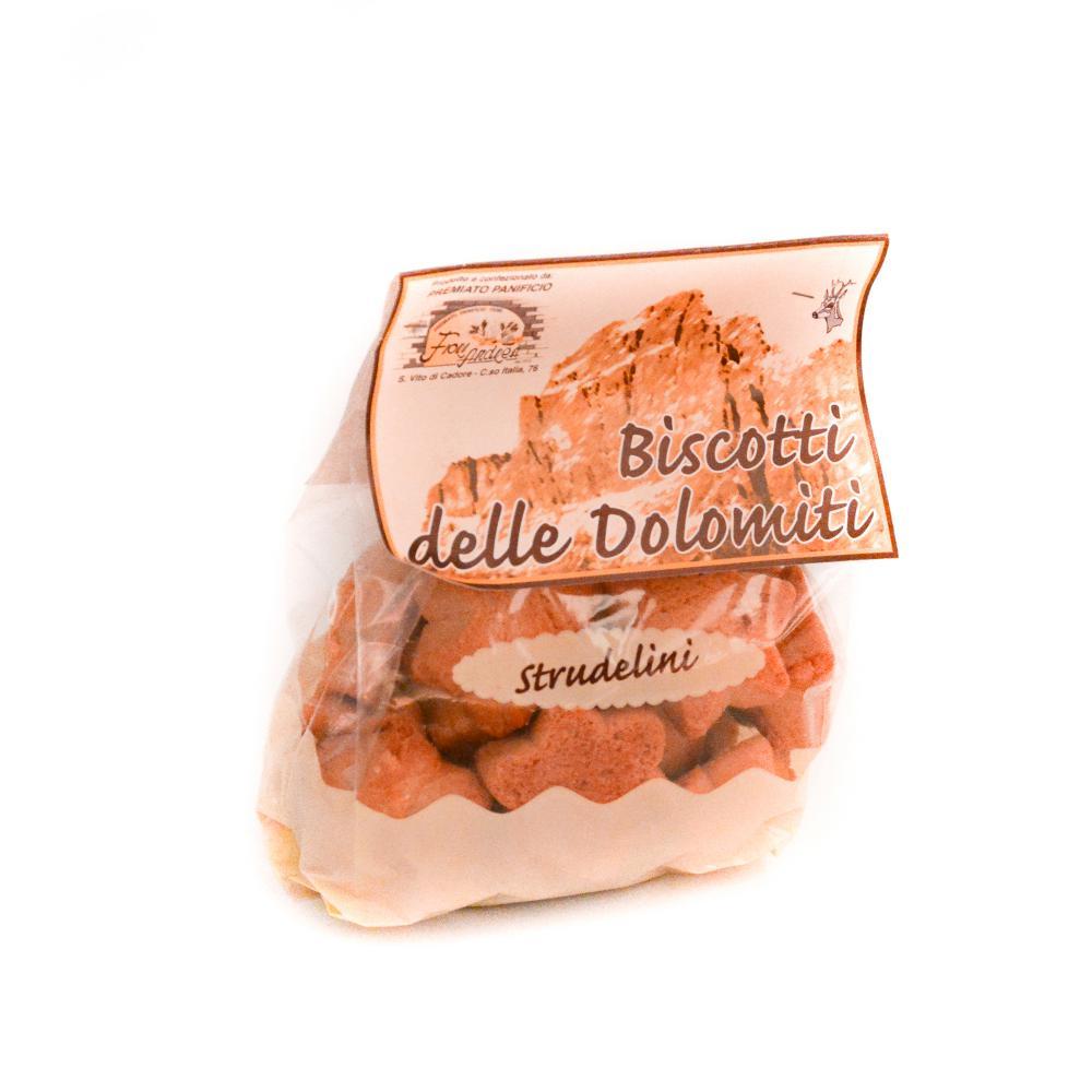 Biscotti delle Dolomiti Strudelini 330g