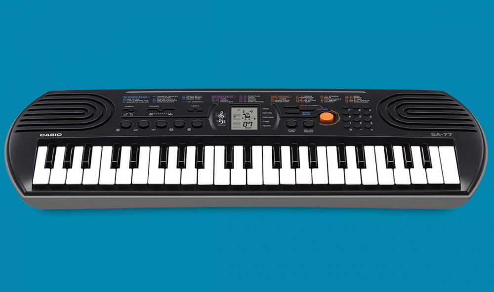 Keyboard mod. Casio SA-76