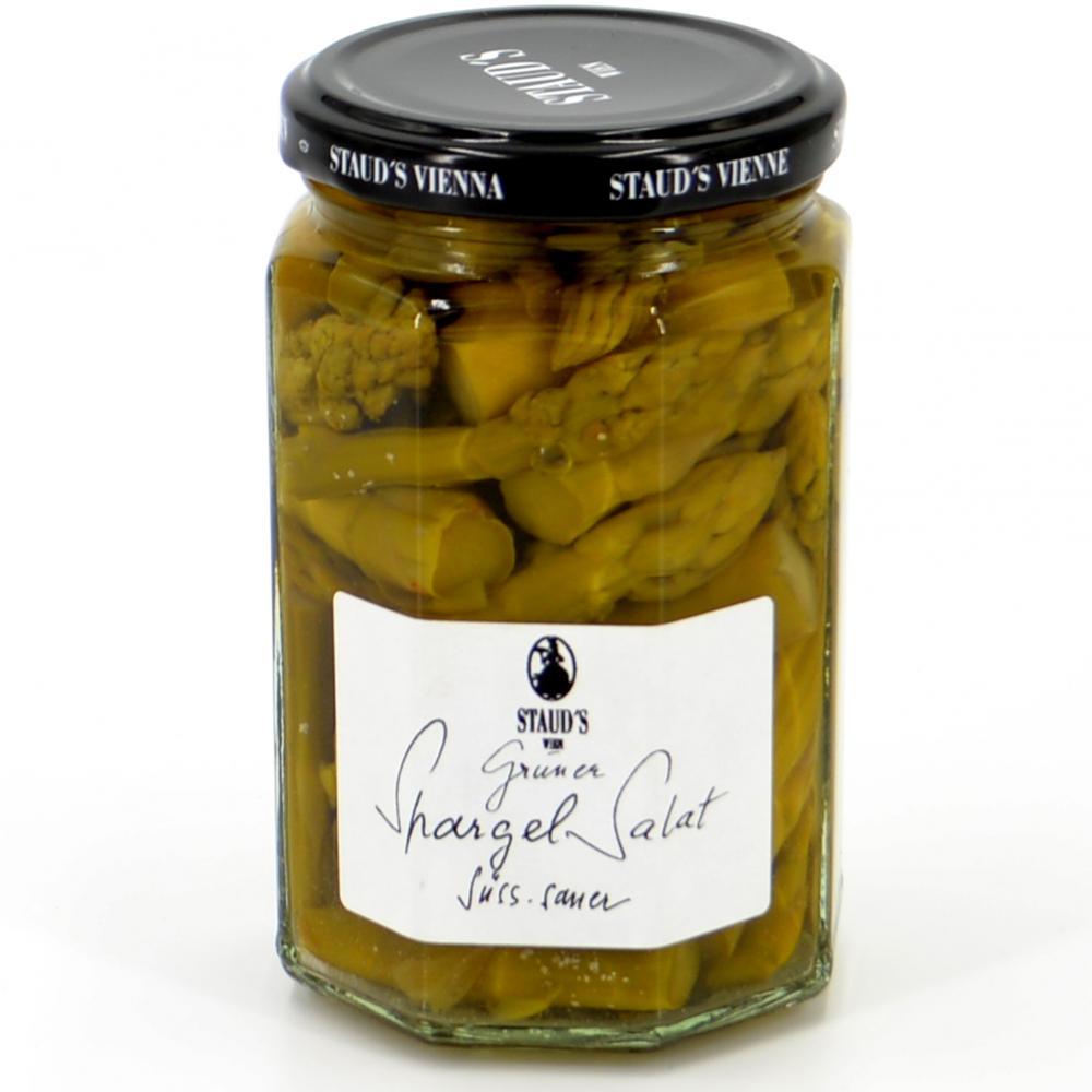 Grüner Spargel Salat