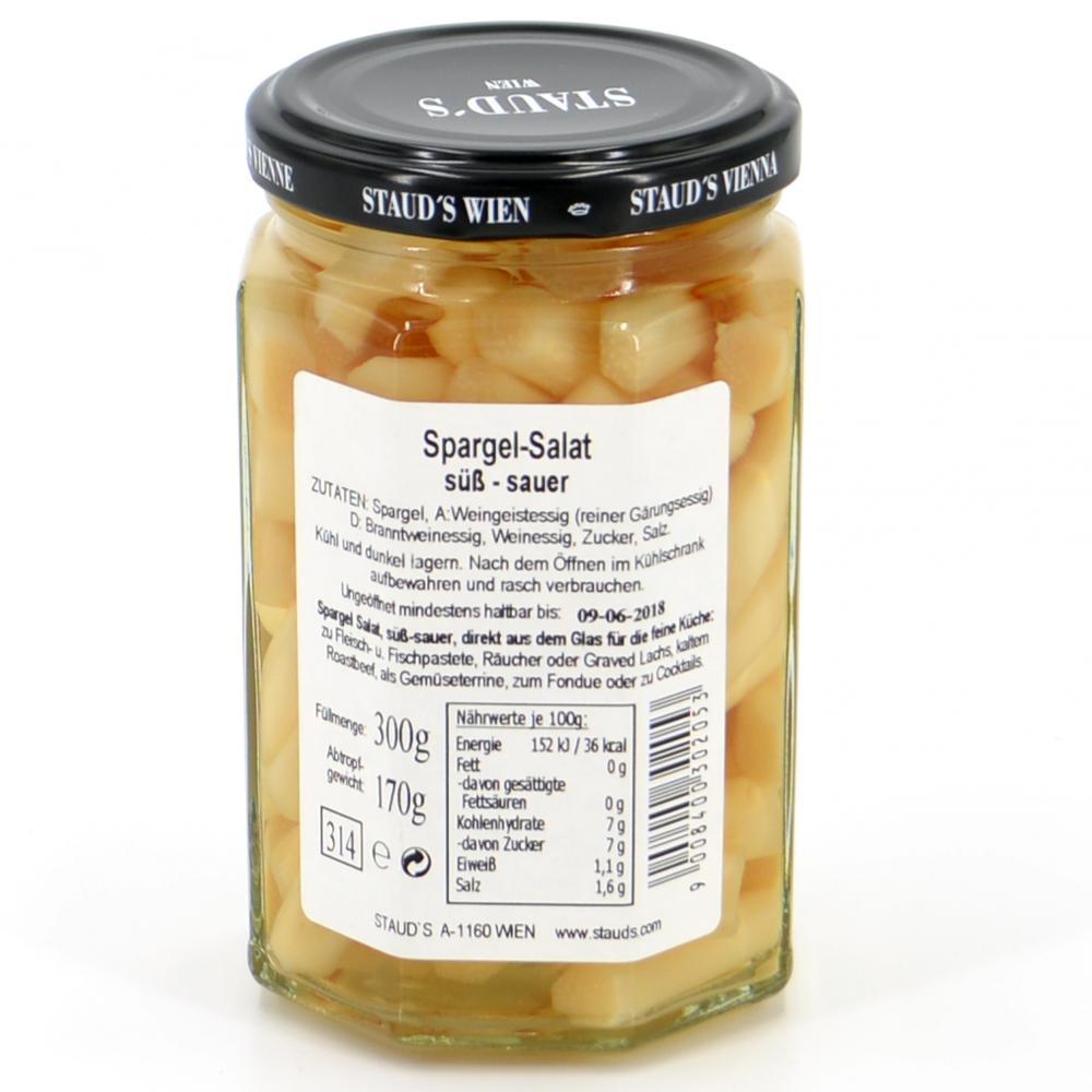 Weisser Spargel Salat