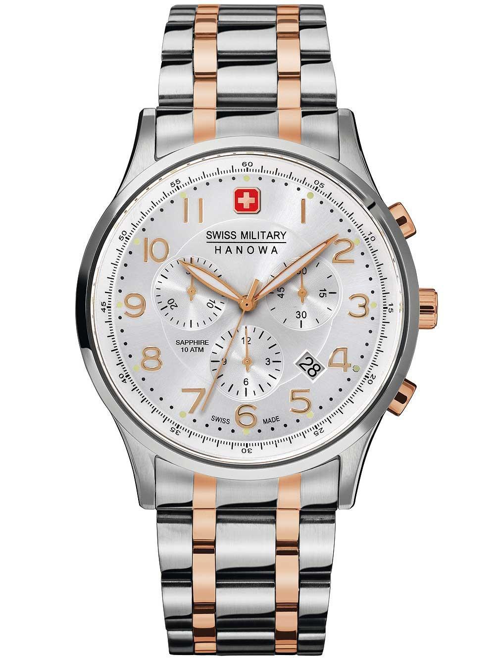 Swiss Military Hanowa Herrenuhr Patriot Chronograph