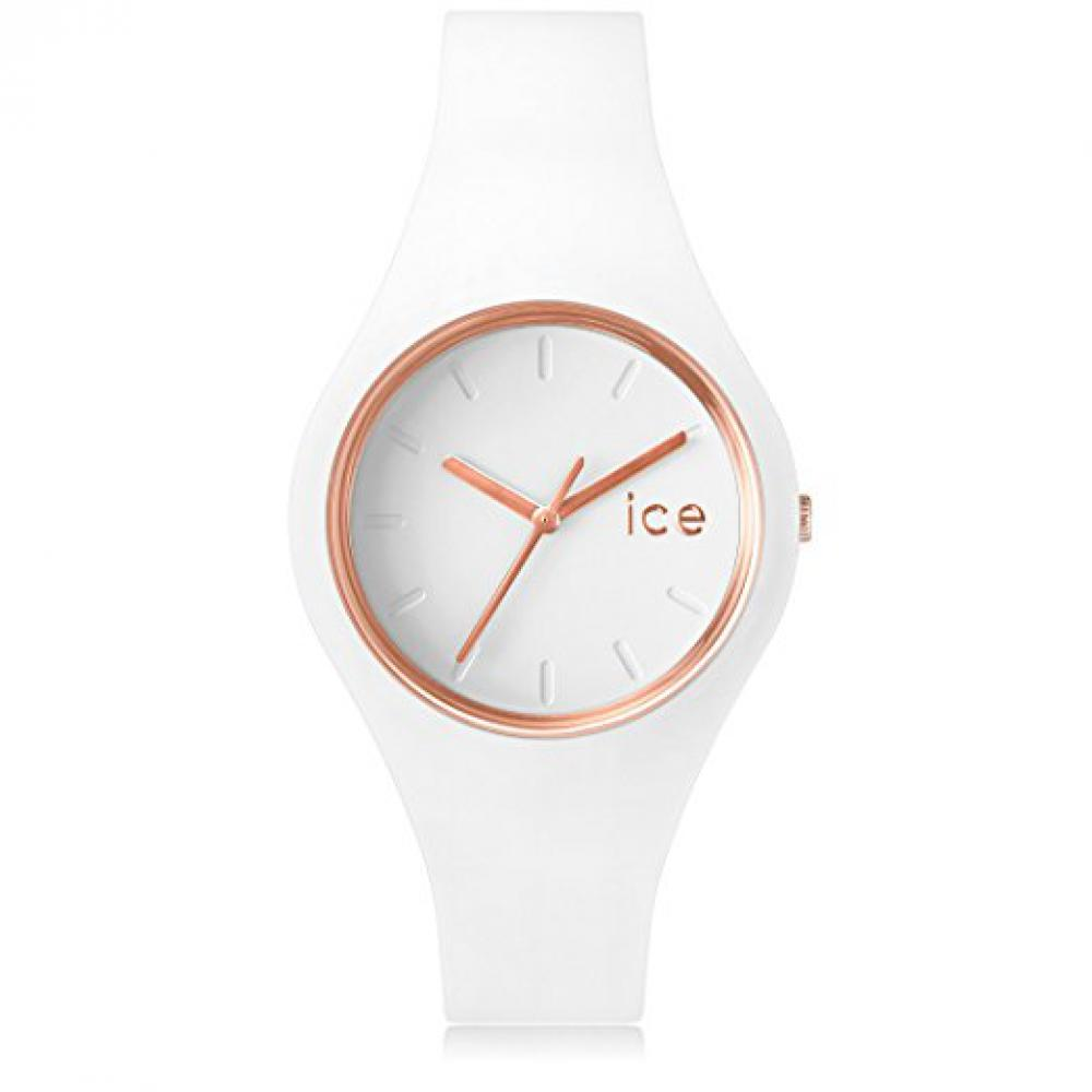 ICE WATCH GLAM Weiß-Rosègold Unisex