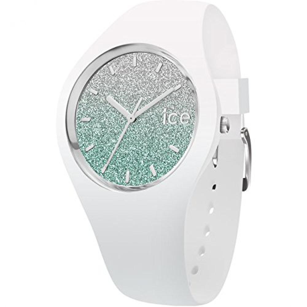 ICE WATCH Ice Lo white/turquoise medium