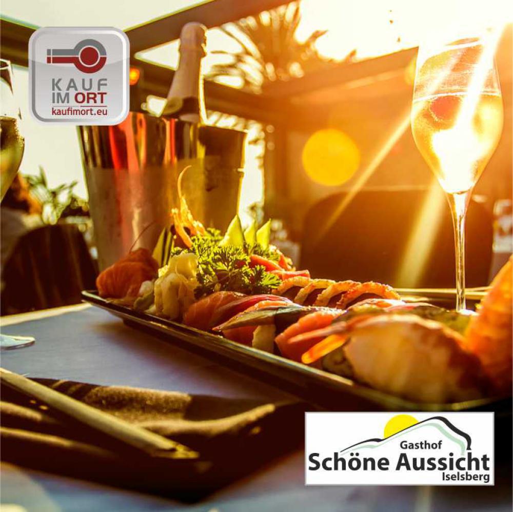 Gasthof Schöne Aussicht - ausgezeichnete Küche, geniale Torten