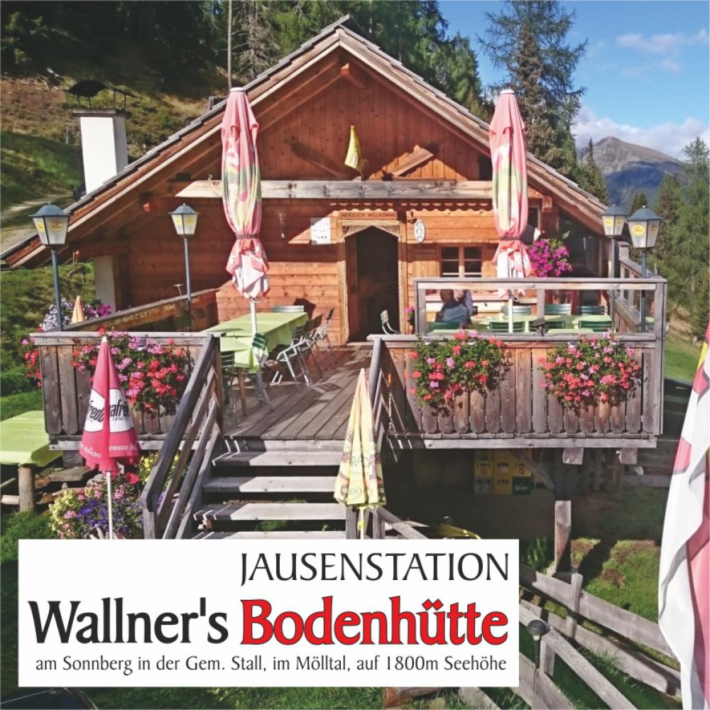 Wallners Bodenhütte - Jausenstation