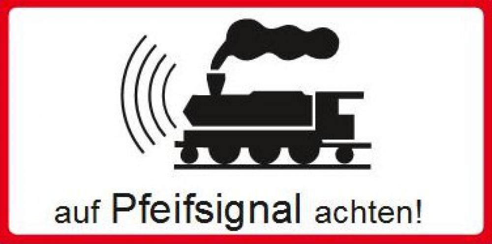 Pay attention to the whistle signal