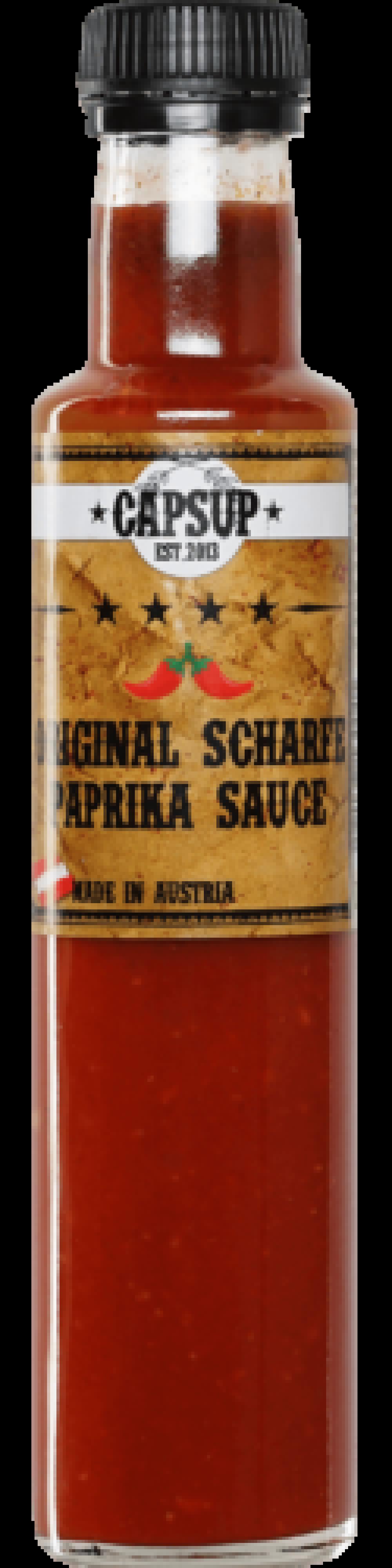 Original Scharfe Paprika Sauce 250ml 4/10