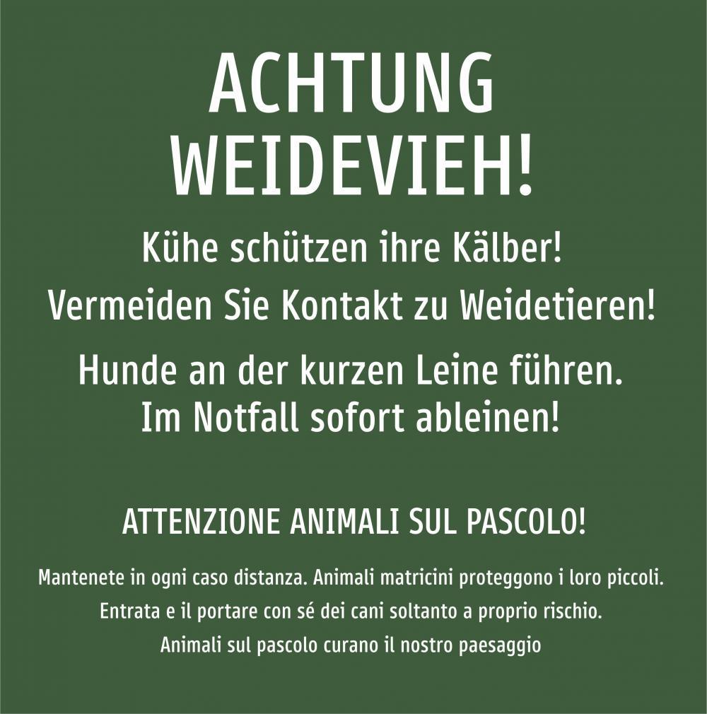 Achtung Weidevieh!