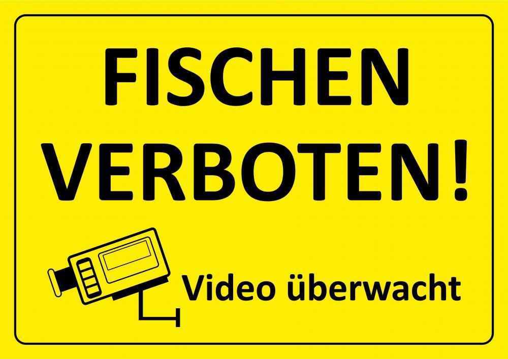 Fischen verboten - Video überwacht