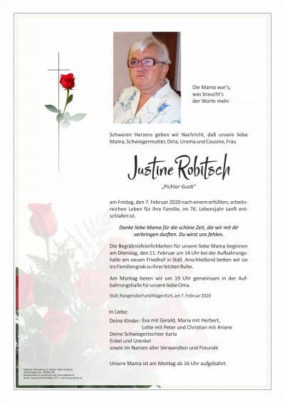 Justine Robitsch