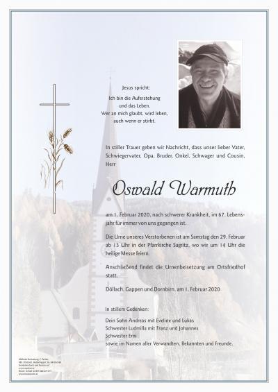 Oswald Warmuth